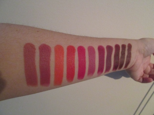 Swatches Megalast Wet N Wild